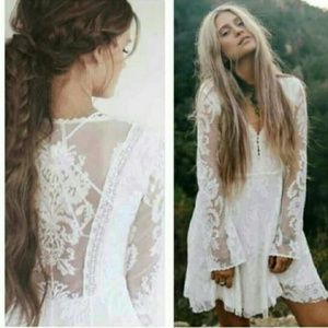 Free People • Reign Over Me Lace Dress Bridal